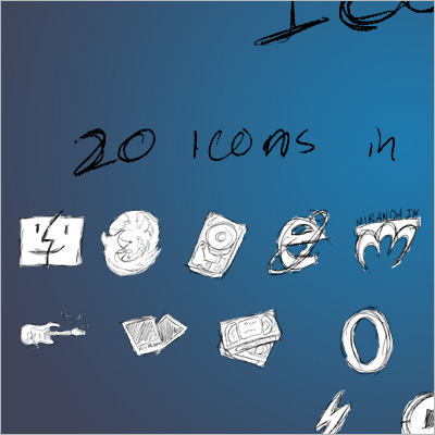 hand drawn icons 161 30 Creative Free Hand Drawn Icon Sets