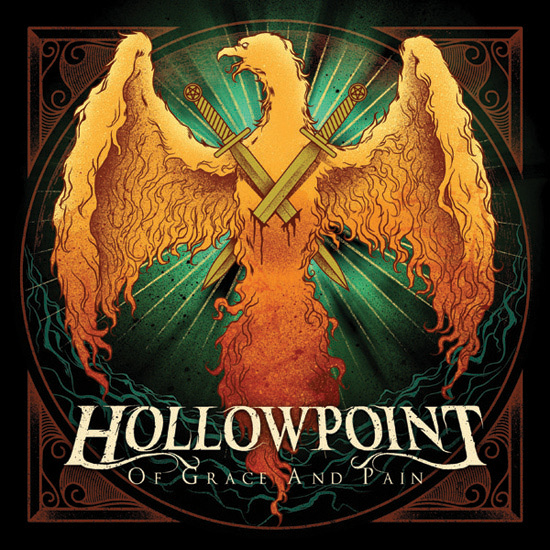 hollowpoint1 40 Remarkable Band Based Album Cover Designs