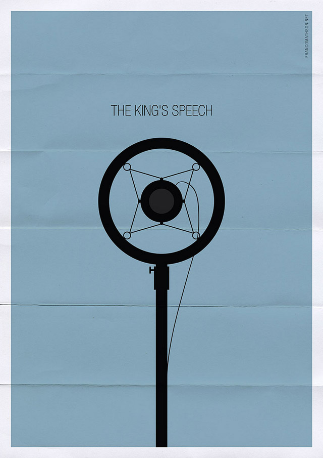 kings1 70 Powerful Examples of Minimal Movie Poster Designs