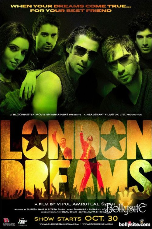 london dreams 30 Best Examples of Bollywood Movie Posters
