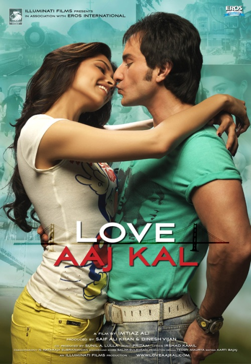 love aaj kal 30 Best Examples of Bollywood Movie Posters
