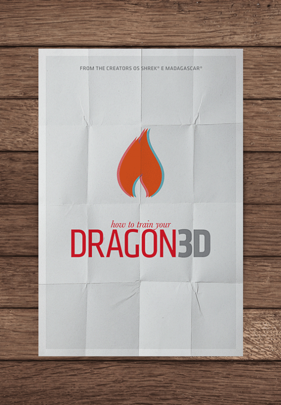 mockupdragonpng 550x7911 70 Powerful Examples of Minimal Movie Poster Designs