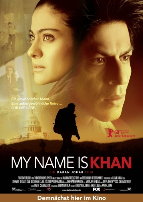 my name is khan 30 Best Examples of Bollywood Movie Posters