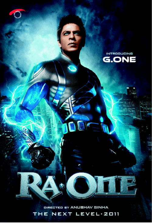 ra.one  30 Best Examples of Bollywood Movie Posters