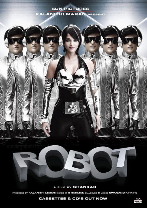 robot 30 Best Examples of Bollywood Movie Posters