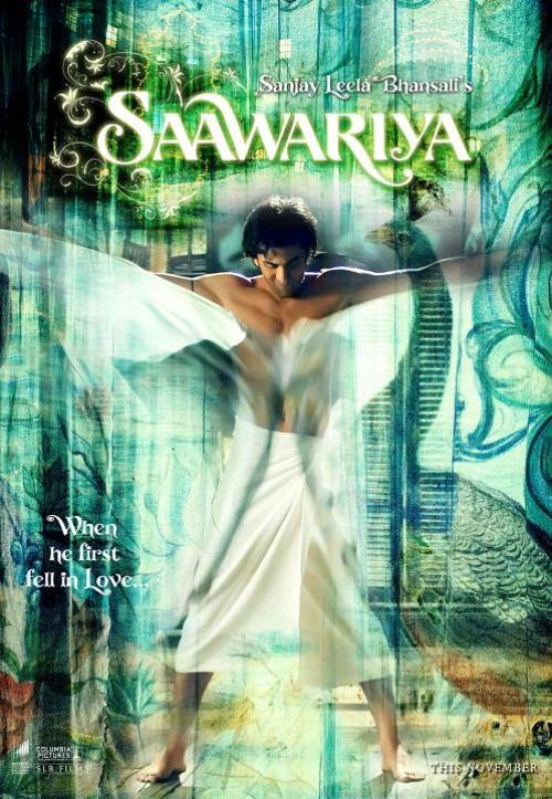 saawariya 30 Best Examples of Bollywood Movie Posters