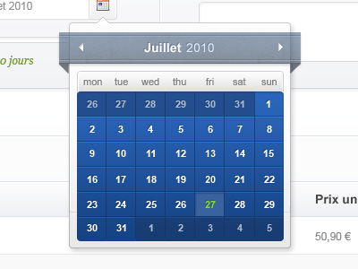 shot 12829084981 60 User Interface Calendar Inspirations and Downloads