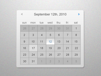 shot 12862591171 60 User Interface Calendar Inspirations and Downloads