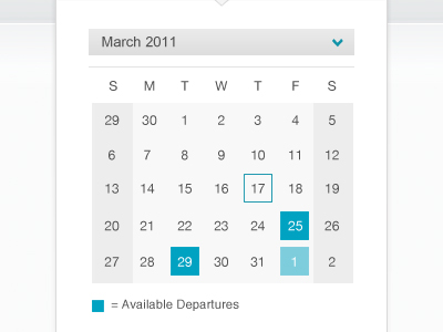 shot 12972733241 60 User Interface Calendar Inspirations and Downloads