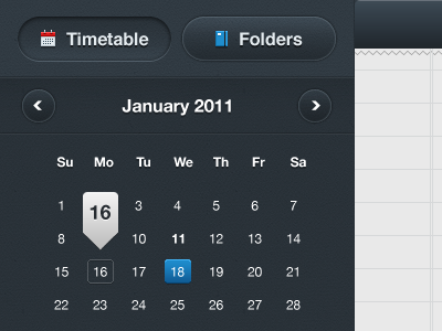 shot 13009853541 60 User Interface Calendar Inspirations and Downloads
