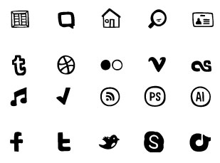 steedicons 30 Creative Free Hand Drawn Icon Sets
