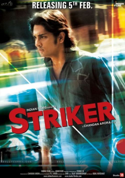 striker 30 Best Examples of Bollywood Movie Posters