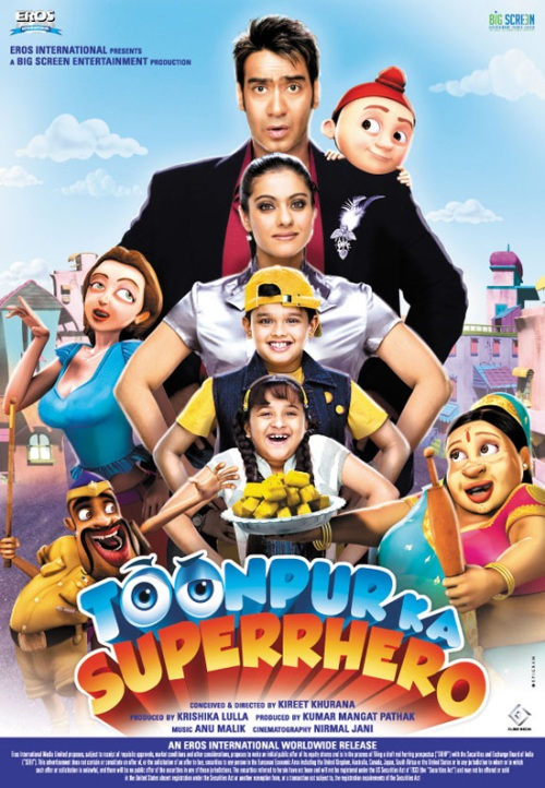 toonpur ka superhero 30 Best Examples of Bollywood Movie Posters