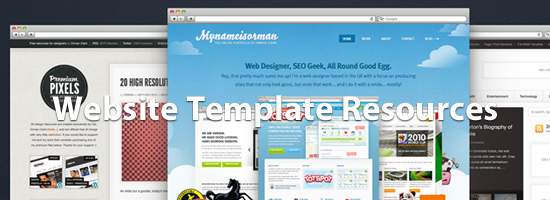 Website Template Resources