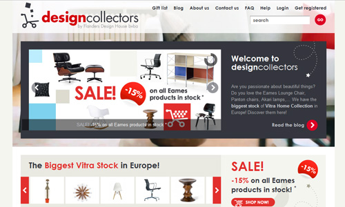 Design Collectors 45 Outstandingly Well Designed E commerce Websites
