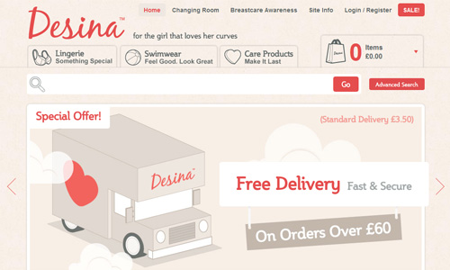 Desina 45 Outstandingly Well Designed E commerce Websites