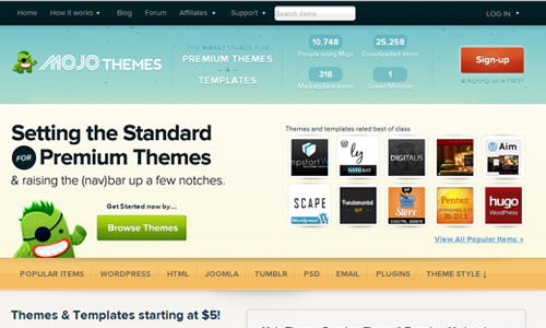 MojoThemes 45 Outstandingly Well Designed E commerce Websites
