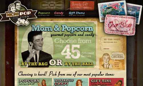 Mom and Pop 45 Outstandingly Well Designed E commerce Websites