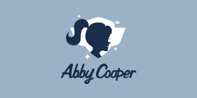 abbycooper1 50 Striking Vintage and Retro Logo Designs