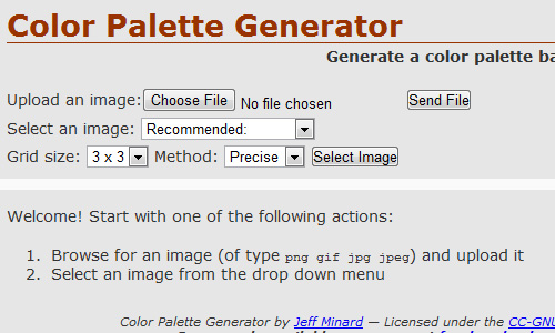 color palette generator How to Select The Perfect Color for Your Website