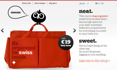 coucoushop 45 Outstandingly Well Designed E commerce Websites