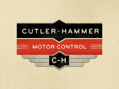 cutler1 50 Striking Vintage and Retro Logo Designs