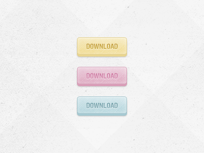 ddfreebie 3d buttons1 50 Jaw Dropping Freebies from the Dribbble Community