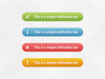 ddfreebie notifications box1 50 Jaw Dropping Freebies from the Dribbble Community