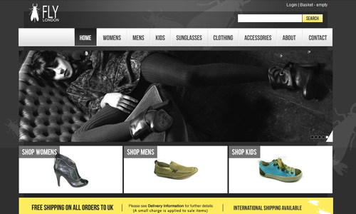 flylondon 45 Outstandingly Well Designed E commerce Websites