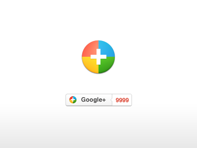 googleplus1 10 Free Beautiful Sets of Google+ Icons