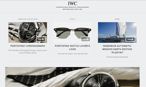 iwc 45 Outstandingly Well Designed E commerce Websites