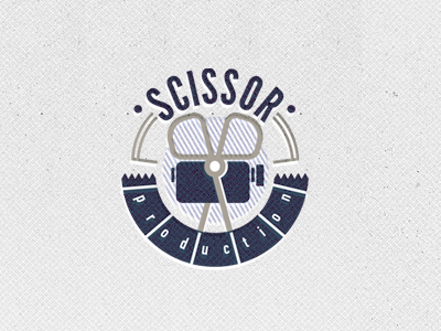 logo sciss21 50 Striking Vintage and Retro Logo Designs