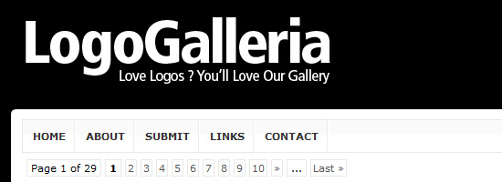 logogalleria 25 Websites to Submit Your Logo Designs