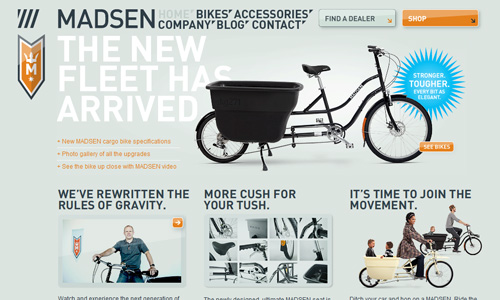 madsencycles 45 Outstandingly Well Designed E commerce Websites