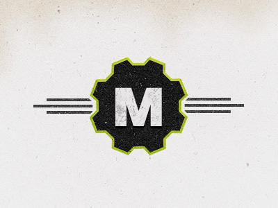 mechanikum1 50 Striking Vintage and Retro Logo Designs