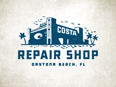 repairshop1 50 Striking Vintage and Retro Logo Designs