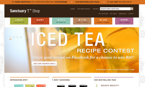 shopsanctuaryt 45 Outstandingly Well Designed E commerce Websites