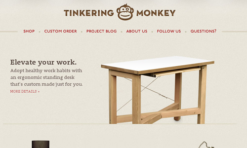 tinkeringmonkey 45 Outstandingly Well Designed E commerce Websites