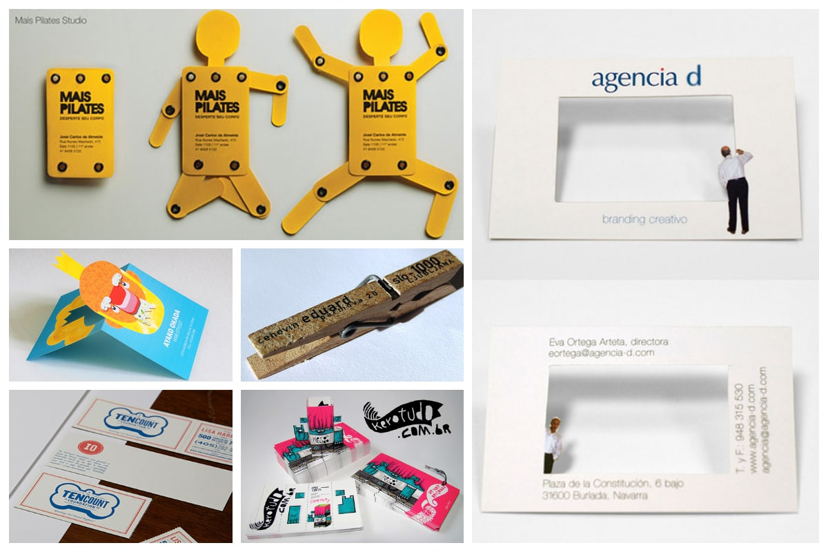 3 Unusual Yet Creative Business Card Designs - Inspirationfeed