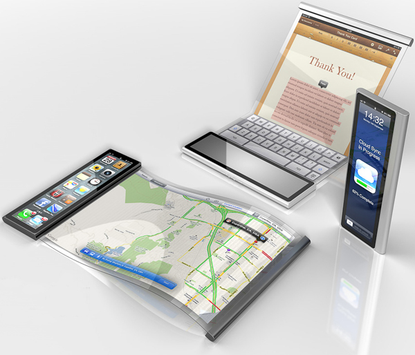Flexible Iphone 5 Apple Concepts We Wish Were Real