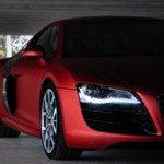 red-audi