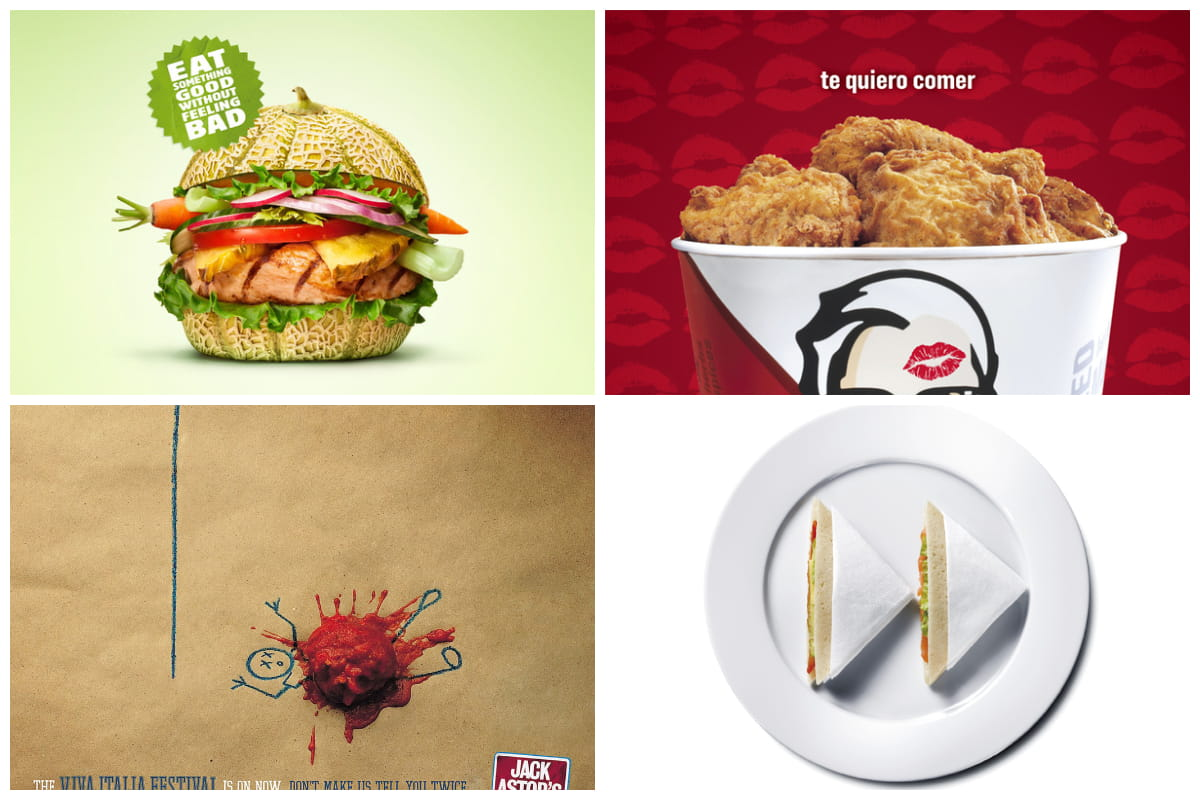 20 Eye-Catching Restaurant Adverts | Inspirationfeed
