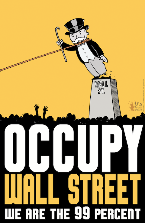 monopolytower11 How Art Fuelled the Occupy Movement