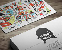 Illustrations-Based-Business-Card-Designs