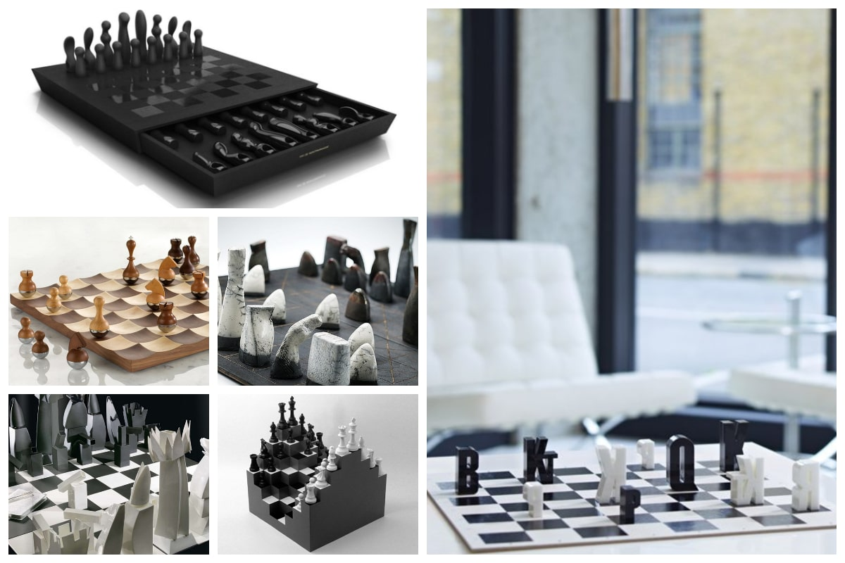 20 Aesthetic Chess Set Designs Inspirationfeed