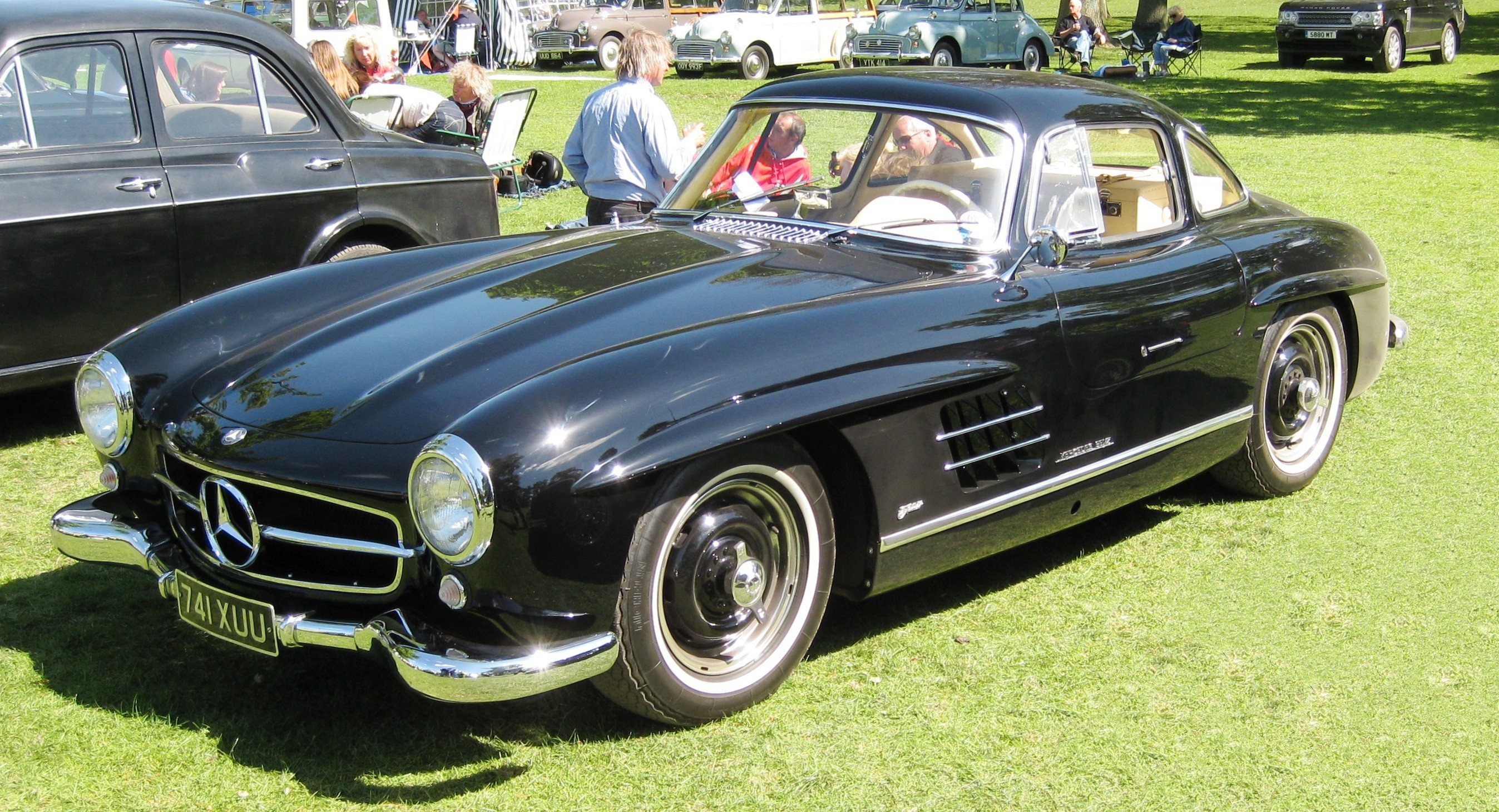1954 Mercedes-Benz 300 SL Gullwing-min
