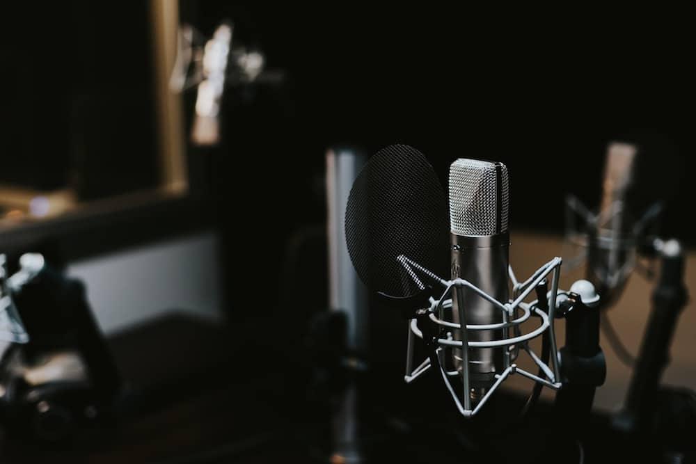 High quality studio microphone