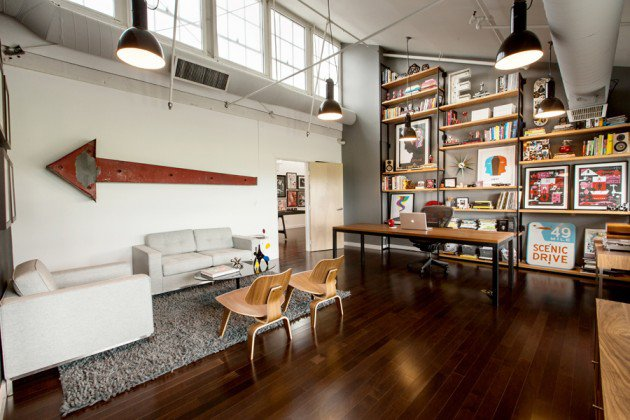 Old Warehouse Repurposed into a Dream Office