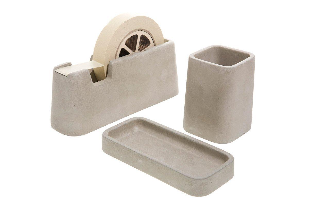 Concrete Desk Accessories