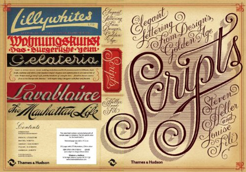 Scripts- Elegant Lettering from Design's Golden Age